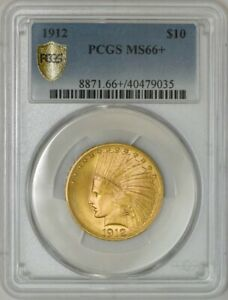 Click now to see the BUY IT NOW Price! 1912 $10 GOLD INDIAN MS66  PCGS SECURE 942625 3