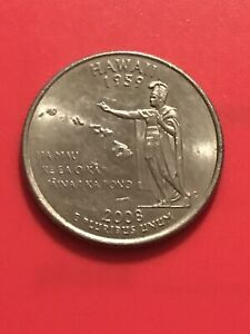 2008 P HAWAII 50 STATES QUARTER  BUY 6 GET 40   OFF IN US   9242