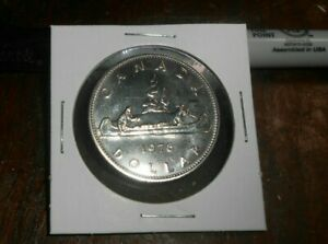 CANADA 1976 PROOF LIKE DOLLAR COIN UNC