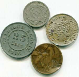 WORLD VINTAGE COINS LOT OF  4     LOTOCT8397