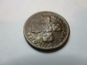 PORTUGAL 10 CENTAVOS 1948 NICE OLD COIN     E215A