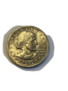 Click now to see the BUY IT NOW Price! SUSAN B ANTHONY LIBERTY 1979 ONE DOLLAR U.S. MINT COIN   UNGRADED   FIND