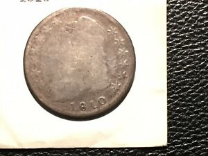 1810 CAPPED BUST HALF DOLLAR NICE READABLE DATE