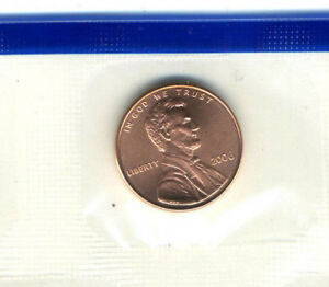 2006 P GEM LINCOLN MEMORIAL GOVERNMENT SEALED UNCIRCULATED PENNY CENT COIN4915