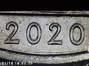 2020 P  QUARTER SALT RIVER BAY DDO ERROR WITH THE DATE. CIRCULATED.  GREAT COIN