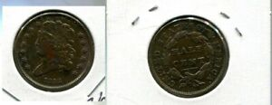 1832 CLASSIC HEAD HALF CENT TYPE COIN XF CL 337P