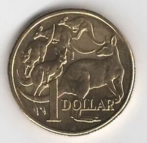 2018 AUSTRALIAN $1.00 COIN.  LOW MINTAGE.             FREE POST
