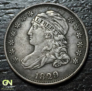 1829 CAPPED BUST DIME R4 JR5      MAKE US AN OFFER   O5732
