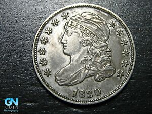 1830 CAPPED BUST DIME      MAKE US AN OFFER   B7125