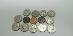 VERY  MIXED LOT COLLECTIBLES U.S COIN FROM 1972 1993