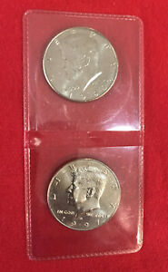 1990 P AND 1997 D GEM CONDITION AND PROOF LIKE KENNEDY HALF DOLLAR SET