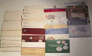 Click now to see the BUY IT NOW Price! 1968 TO 2005 MINT SETS U.S. MINT 36 SETS P AND D UNCIRCULATED MINT SET COA