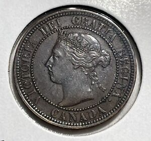 1900 CANADA LARGE CENT AU TO UNCIRCULATED ITEM170