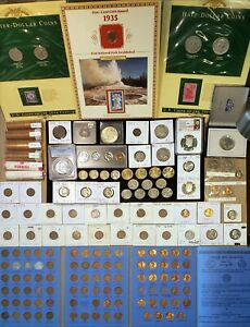 Click now to see the BUY IT NOW Price! US COIN LOT 1845 2021  KEY DT PCGS NGC SILVER MORGAN MS PROOF SET OBW ROLLS