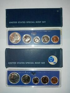 1966 & 1967 SPECIAL MINT SET LOT NICE LOOK