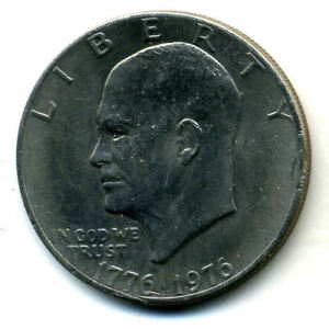 NICE 1976 P EISENHOWER DOLLAR CHOICE BRILLIANT UNCIRCULATED MINT STATE COIN1652