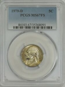 Click now to see the BUY IT NOW Price! 1979 D JEFFERSON NICKEL 5C MS67 FS PCGS 944452 2