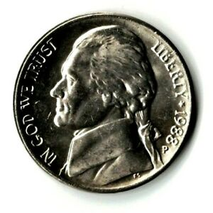 1988 P JEFFERSON NICKEL UNC. FILL YOUR COIN BOOK 0916