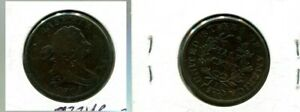1805 DRAPED BUST HALF CENT TYPE COIN F 7334P