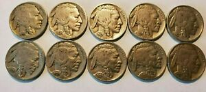 BUFFALO NICKEL FULL DATE ROLL  40 NICKELS  ALL DATES ARE 1935 1938   CIRCULATED
