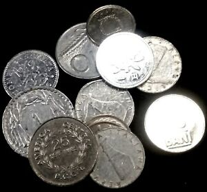 SET OF 13 COINS FROM 13 DIFFERENT COUNTRIES ALL ALUMINIUM COINS LOT