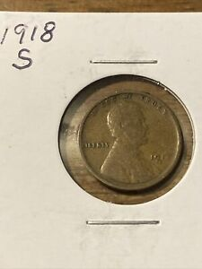 1918 S LINCOLN WHEAT CENT  2110262
