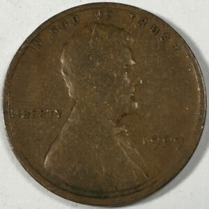 1909 UNITED STATES LINCOLN WHEAT CENT PENNY   KM132   0758