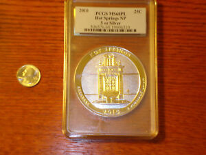 Click now to see the BUY IT NOW Price! PCGS 2010 AMERICA THE BEAUTIFUL 5 OUNCE HOT SPRINGS  MS68PL