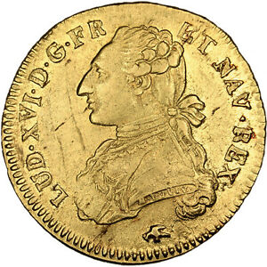 Click now to see the BUY IT NOW Price! [30871] FRANCE DOUBLE LOUIS D'OR AU BUSTE HABILL 2 LOUIS D'OR 1776 LYON