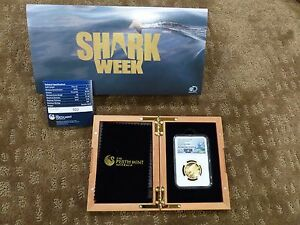 Click now to see the BUY IT NOW Price! NGC 2015 P AUSTRALIA GOLD $100 GREAT WHITE SHARK HIGH RELIEF PF 70 ULTRA CAMEO