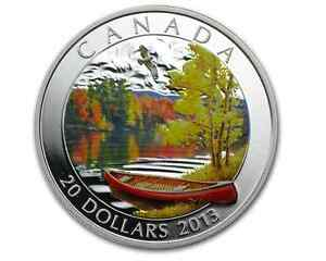 Click now to see the BUY IT NOW Price! 2013 $20 FINE SILVER COIN   AUTUMN BLISS