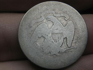 1871 S  1878 S SILVER SEATED LIBERTY QUARTER  LOWBALL HEAVILY WORN