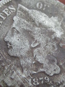1879 THREE 3 CENT NICKEL   KEY DATE