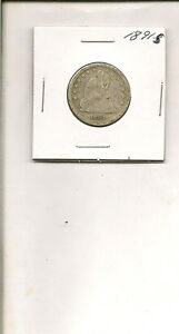 1891 S 90  SILVER SEATED LIBERTY QUARTER DOLLAR