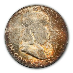 Click now to see the BUY IT NOW Price! 1951 S 50C FRANKLIN HALF DOLLAR PCGS MS66 FBL  CAC