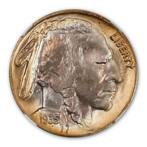 Click now to see the BUY IT NOW Price! 1935 D 5C BUFFALO NICKEL NGC MS68