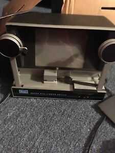 s sears super 8 mm viewer editor 50 60 s