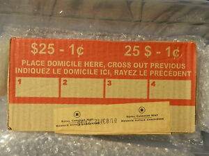Click now to see the BUY IT NOW Price! 2012 CANADA ONE CENT MINT BOX DATED JAN.03 FIRST DAY OF PRODUCTION SEALED