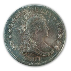 Click now to see the BUY IT NOW Price! 1807 25C DRAPED BUST QUARTER PCGS MS64
