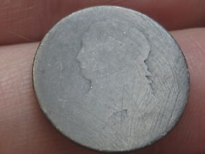 1809 1828 90  SILVER CAPPED BUST DIME