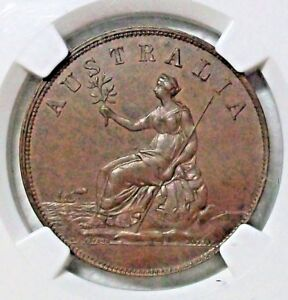 Click now to see the BUY IT NOW Price! UNDATED NEW ZEALAND MERCHANT'S TOKEN PENNY MULE AUSTRALIA NGC MS 63