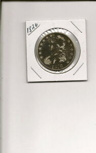 1826 90  SILVER CAPPED BUST HALF DOLLAR   COIN