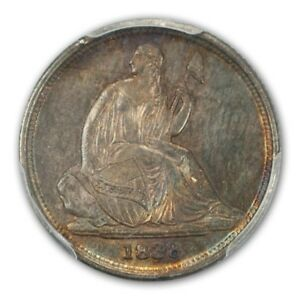 Click now to see the BUY IT NOW Price! 1838 O 10C NO STARS LIBERTY SEATED DIME PCGS AU55