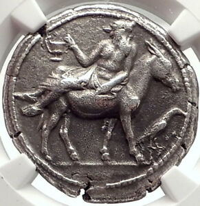 Click now to see the BUY IT NOW Price! MENDE IN MACEDONIA  460BC ANCIENT SILVER GREEK TETRADRACHM COIN NGC I69560