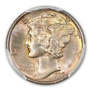Click now to see the BUY IT NOW Price! 1930 10C MERCURY DIME PCGS MS67FB