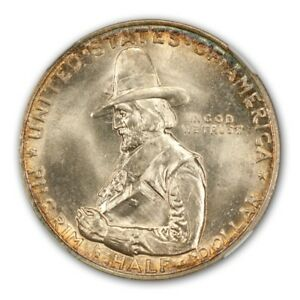Click now to see the BUY IT NOW Price! PILGRIM 1920 SILVER COMMEMORATIVE 50C NGC MS67