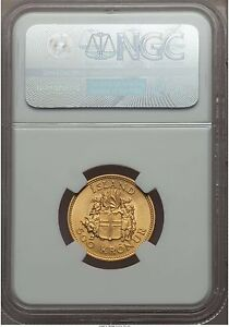 Click now to see the BUY IT NOW Price! ICELAND  REPUBLIC GOLD 500 KRONUR 1961 MS66 NGC