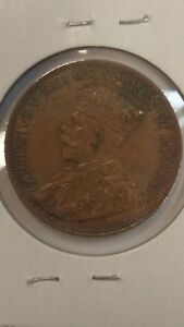 1918 ONE CENT CANADA HIGH GRADED