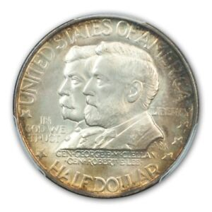 Click now to see the BUY IT NOW Price! ANTIETAM 1937 50C SILVER COMMEMORATIVE PCGS MS67   CAC