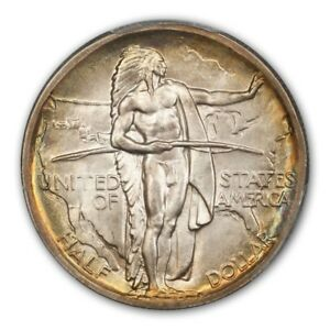 Click now to see the BUY IT NOW Price! OREGON 1938 50C SILVER COMMEMORATIVE PCGS MS68